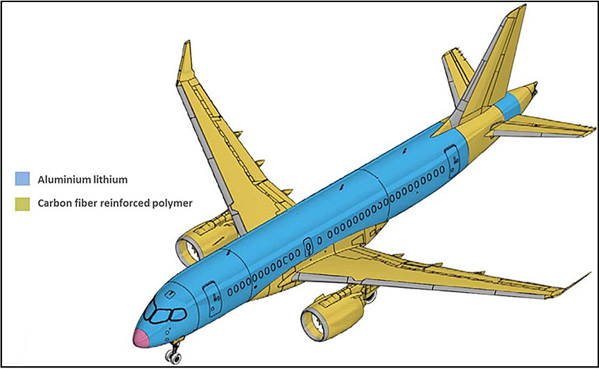 Image showing the wing and fuselage materials