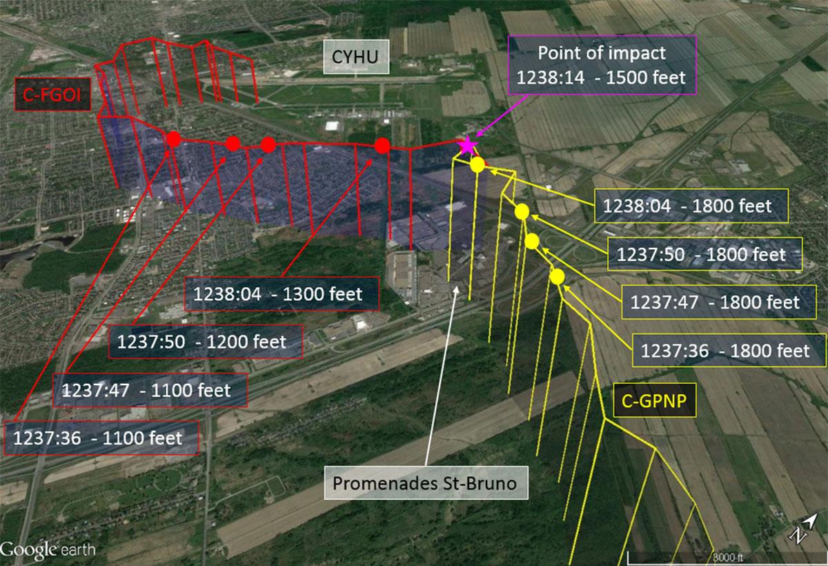 Aviation Investigation Report A17Q0030 - Transportation