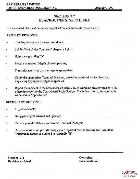 Marine Investigation Report M13M0287 - Transportation Safety Board