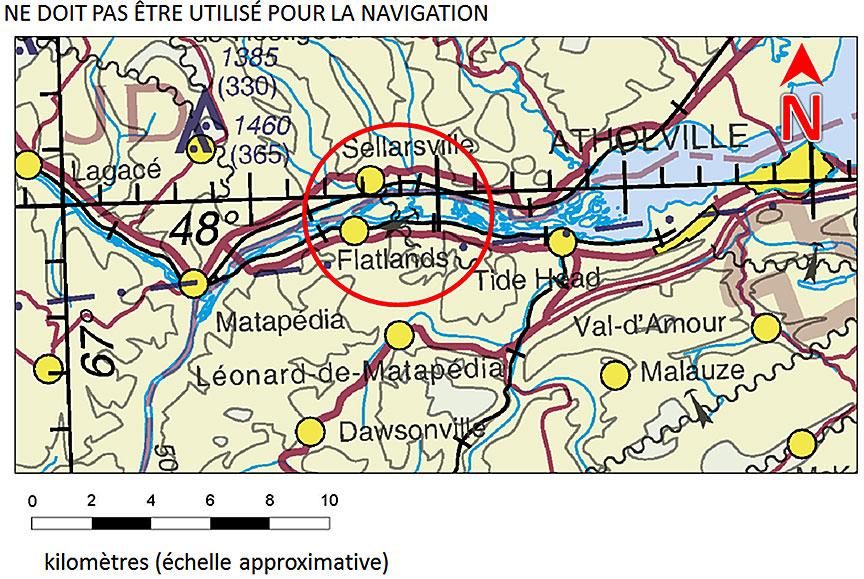 Carte Canada Chicoutimi.Rapport D Enquete Aeronautique A16a0084 Bureau De La Securite Des